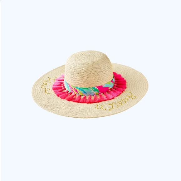 69928867a46dd Illy Pulitzer Sun Goddess Hat